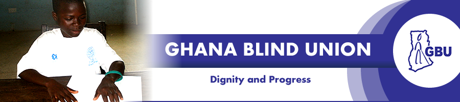 Banner of Ghana Blind Union